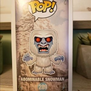 Disney exclusive Abominable Snowman POP doll